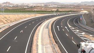 Moreno inaugura el desdoble de la carretera A-352 Vera-Garrucha y la variante de Berja