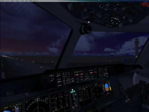 PMDG MD11 for FSX: VC Panel Lighting Demo