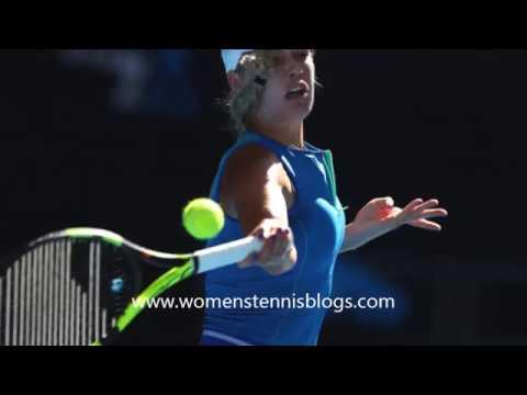 Caroline Wozniacki Australian Open 2017 day 2 photos