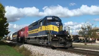 A Ethanol Train almost derails, Bensenville IL 9/30/12