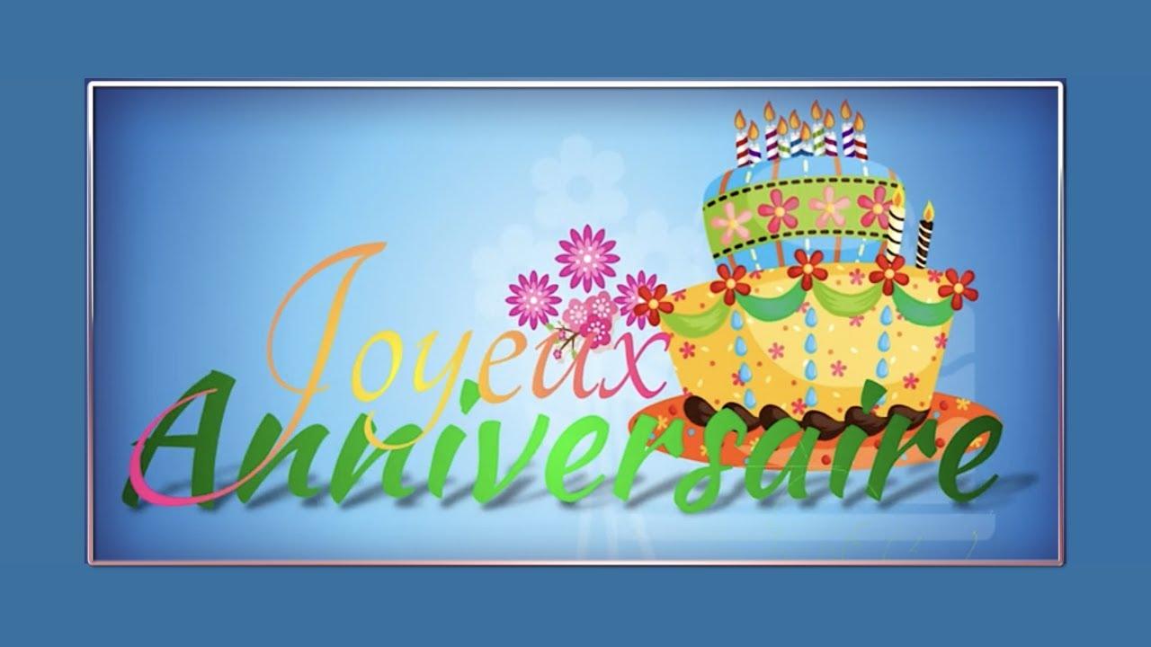 Carte Virtuelle Joyeux Anniversaire