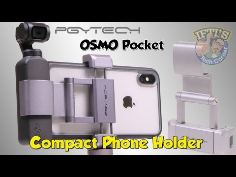 dji-osmo-pocket-compact-phone-holder-+-&-mini-tripod---pgytech---review