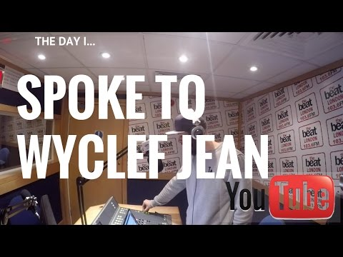 I ENDED UP SPEAKING TO WYCLEF JEAN! (FROM...