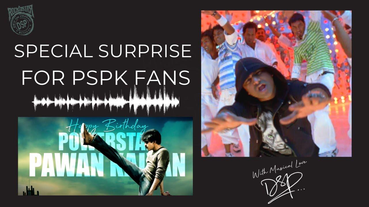 Jalsa Music Video - Exclusive | Happy Birthday Pawan Kalyan Sir | With Love DSP | Devi Sri Prasad