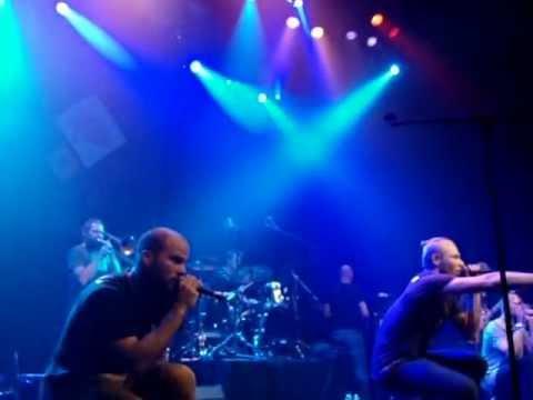 Sessie Jam de la crème live @Paard van Troje 20-10-'12