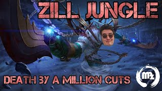 Zill - Jungle Gameplay - Death by a Million Cuts - Arena of Valor