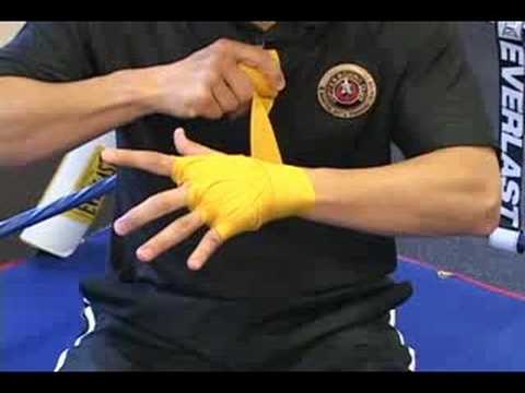 Hand Wrapping Technique Youtube