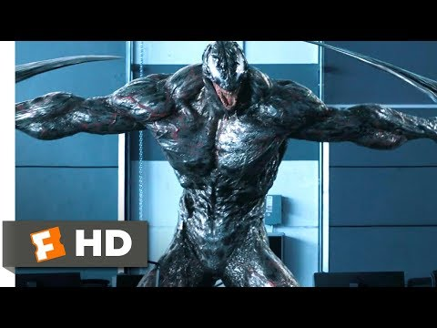 Venom (2018) - Riot Attacks Scene (7/10) | Movieclips
