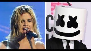 Were selena gomez & bts lip synching at the american music awards 2017 recap
