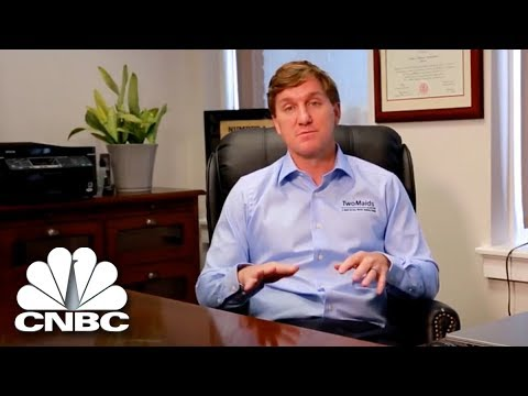 This Cleaning Company Is Seeking A Franchise Operations Director | The Job Interview | CNBC Prime