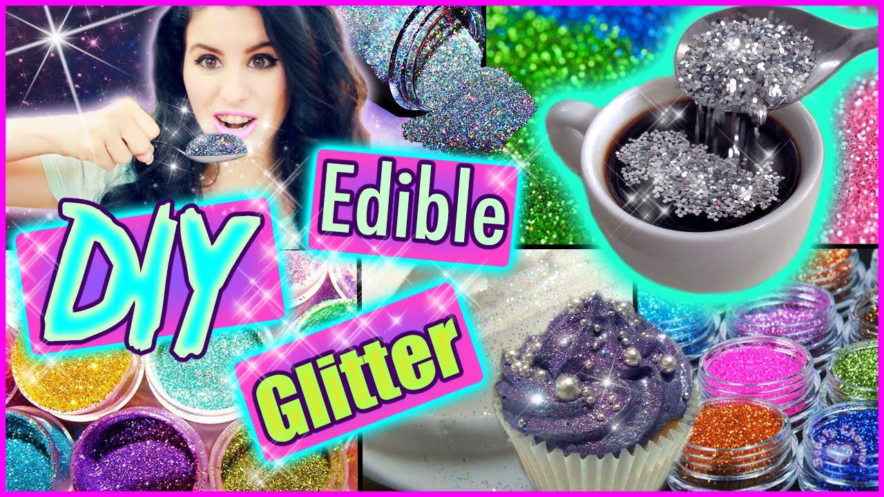 DIY Edible Glitter! | Eat Glitter For Breakfast ...