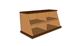 How To Build A Shoe Organizer