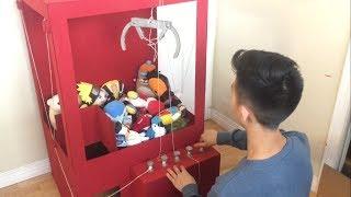 DIY Cardboard Claw Machine