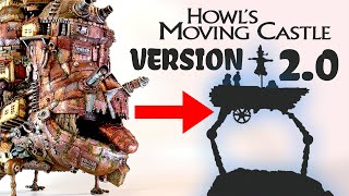 Making the sad version of Howl's Moving Castle // Ghibli Crafts