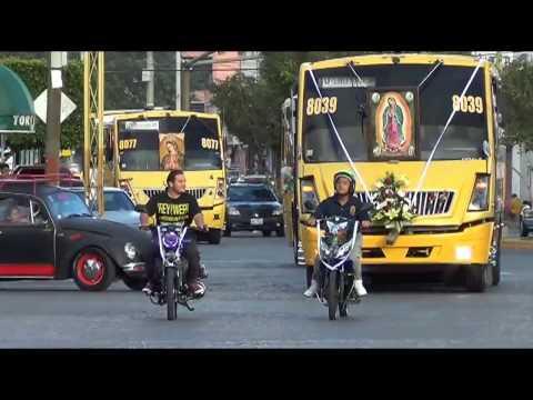 Peregrinación Linea Guadalupe PARTE 1Diciembre 2016 S.L.P.