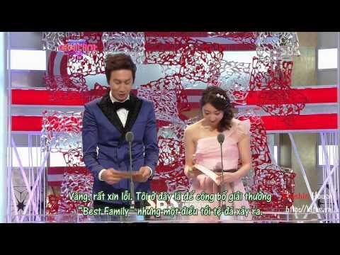 [Vietsub by Baeshin House] 301212 SBS Entertainment Award - Kwang Soo cut