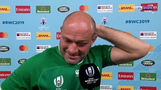 Ireland captain Rory Best turns emotional as he retires from international duties | RWC 2019 Moments