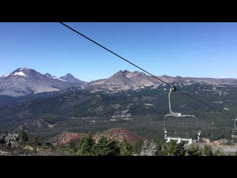 Mount Bachelor Chair Lift (Three Sisters & Broken Top) - 8/15/2015