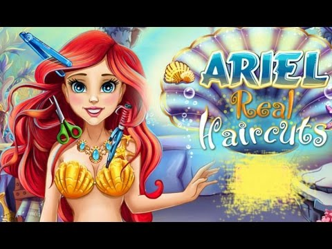 Ariel Real Haircuts Disney Princess Ariel Hairstyle Game For Kids