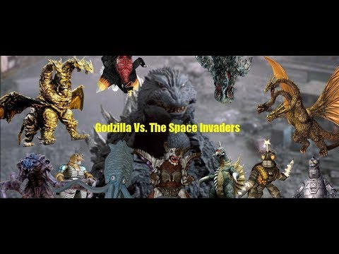 Godzilla: Daikaiju Battle Royale Movie: Godzilla Vs. The Space Invaders