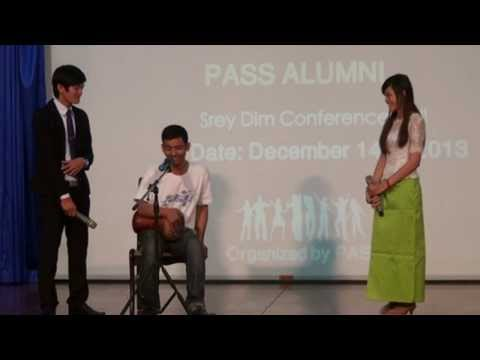 Pannasastra Student Senate (PASS) ALUMNI Funny show  2013 at PUC
