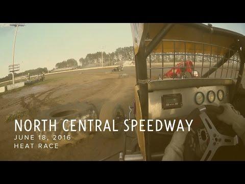 June 18, 2016 North Central Speedway Heat Race