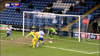 Bury vs Exeter City - League Two 2013/14