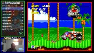 Sonic the Hedgehog 2 (Genesis) Speedrun by SuperSonic71087- 21:01