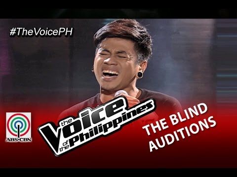 "The Voice of the Philippines Blind Audition  ""Ako Na Lang""  Sean Oquendo Season 2"