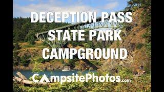 Deception Pass State Park, Washington Campsite Photos