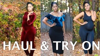 HOW TO STYLE MY BABY BUMP | CLOTHING HAUL & TRY ON | 2016 FASHION NOVA |  CHINACANDYCOUTURE
