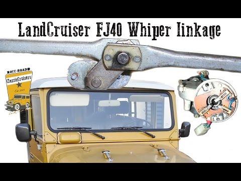 fixing the wiper mechanism on a fj40 bj40 bj42 toyota landcruiser Tail Light Wiring Diagram fixing the wiper mechanism on a fj40 bj40 bj42 toyota landcruiser