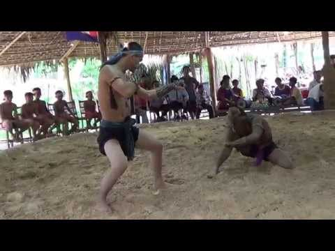 Amazing Boxing Lbokator - Typical Cambodia Sport from Khmer Empire