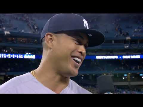 Giancarlo Stanton on his two home runs on Opening Day in his New York Yankees debut
