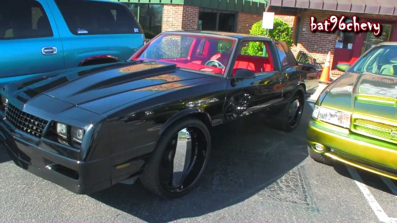 Black Chevy Monte Carlo Ss On 24 Quot Blades 1080p Hd Youtube