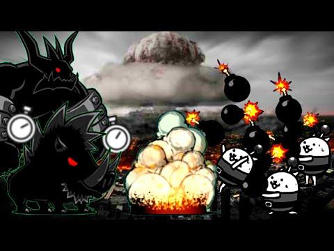 The Battle Cats - Flower Cat Awakens! (Rage of Bombercat)