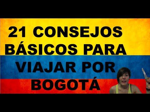 21 CONSEJOS PARA VIAJAR POR BOGOTÁ (COLOMBIA)