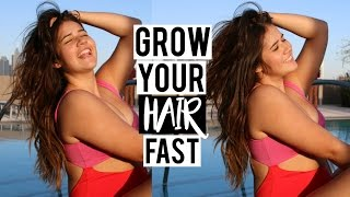 How To Grow Your Hair Long & Thick FAST | My Hair Care Routine