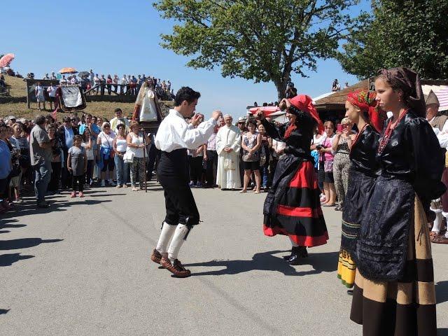 Día de Asturias en el santuario de la Virgen del Acebo, en Cangas del Narcea