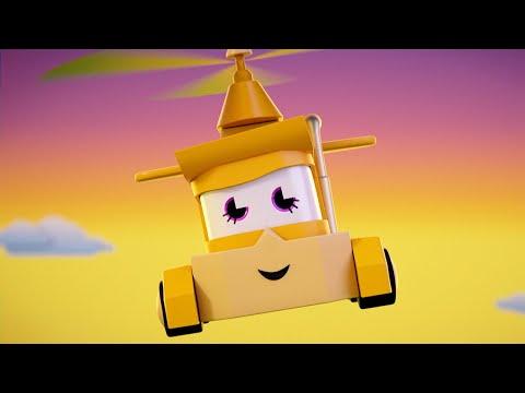 Мультфильмы с грузовиками для детей -  Воздушная тубрина - Truck Games