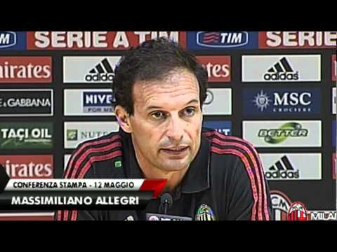 Onwards for AC Milan coach Allegri