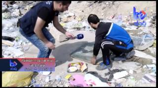 برنامج كنا هنا سقوط طفل في احد مجاري الصرف الصحي1 -صليخ-قناة هنا بغداد الفضائية