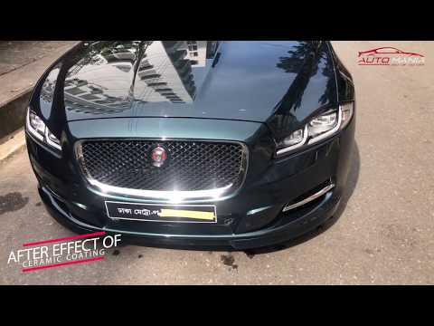 Ceramic Coating on Jaguar XJ by Auto Mania with SONAX CC 36