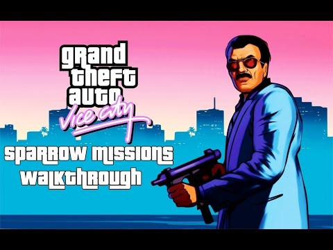 Grand Theft Auto: Vice City (PS4) - Sparrow Missions (locations + Walkthrough)