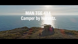 MAN TGE 4x4 Camper by Norantz