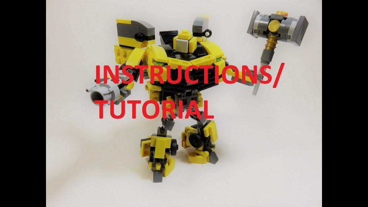 lego bumblebee transformer instructions