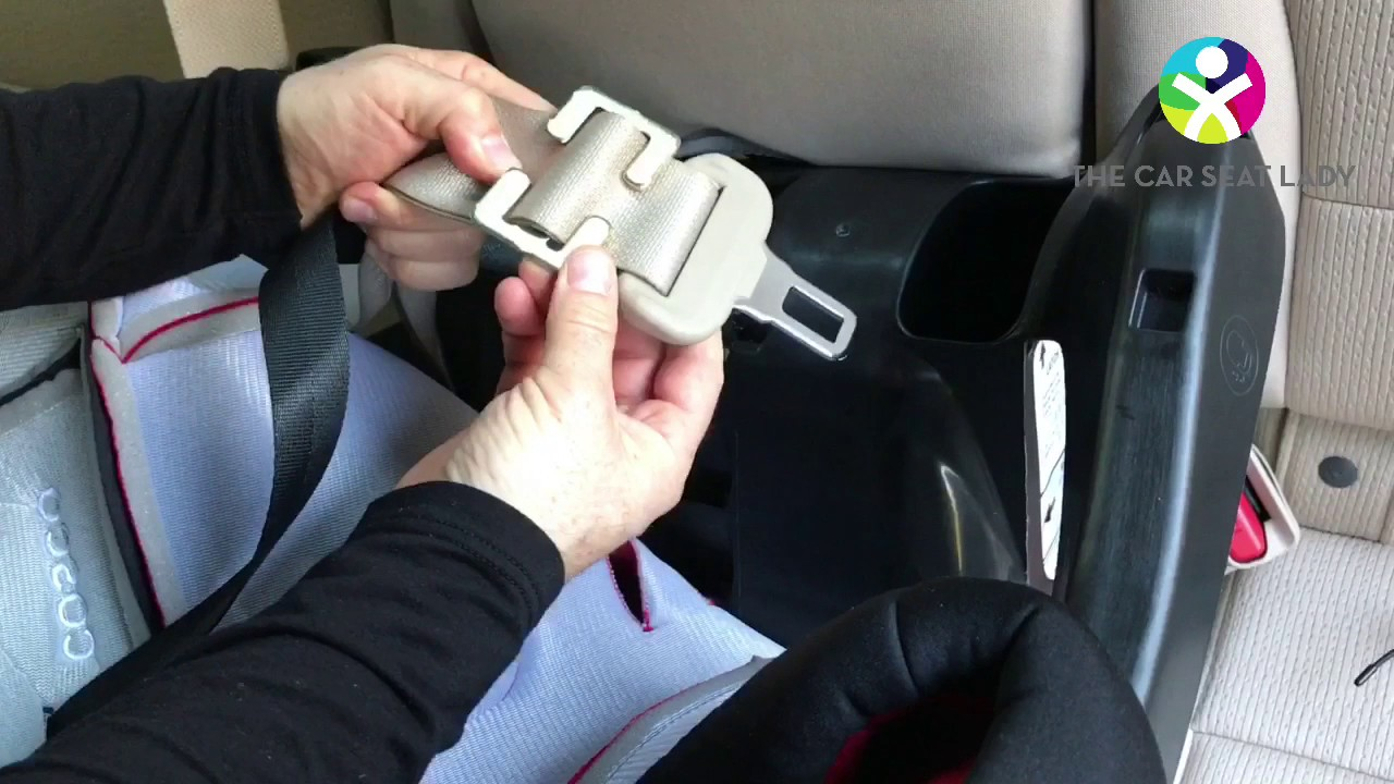 How To Use A Locking Clip To Install A Car Seat The Car Seat Lady
