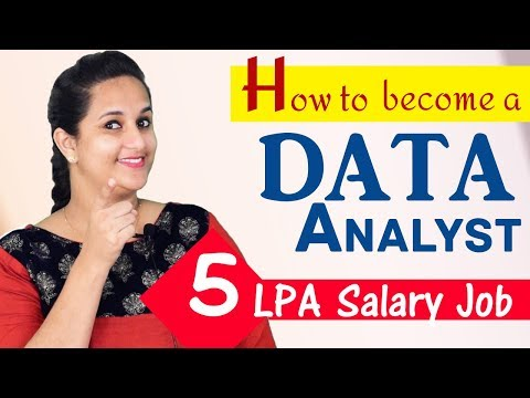 How to become a Data Analyst in India - Course and career