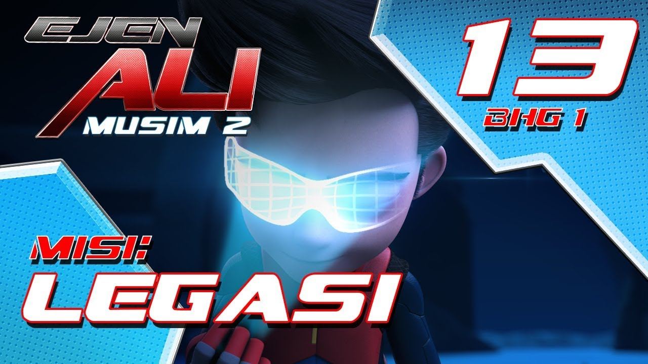 Download Ejen Ali Musim 2 (EP13) - Misi : Legasi [Bahagian 1]