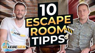Escape Room Tipps |mit Diesen 10 Tipps Knackst Du Jeden Escape Room!